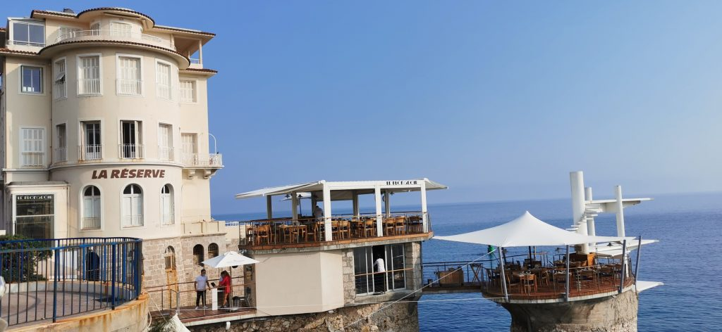 Le restaurant Le Plongeoir à Nice