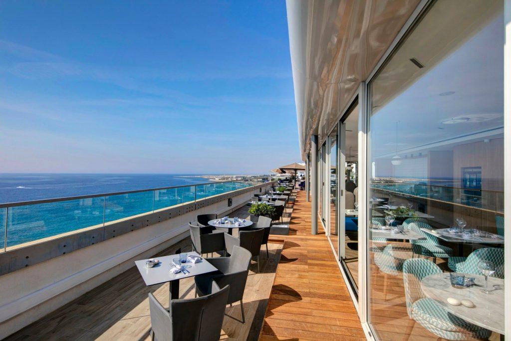 Le rooftop du restaurant la Calade rooftop à Nice