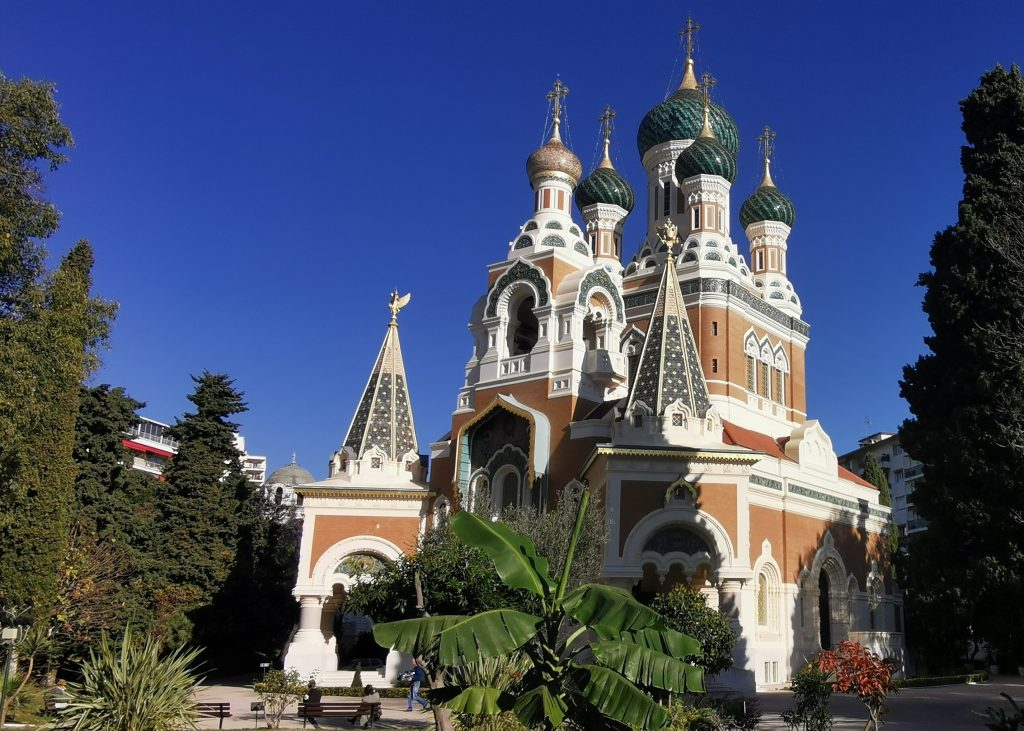 La Cathédrale St-Nicolas une splendeur de l'architecture russe