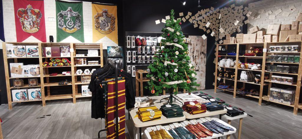 Mystery Store, boutique éphémère sur l'univers d harry potter à CAP 3000
