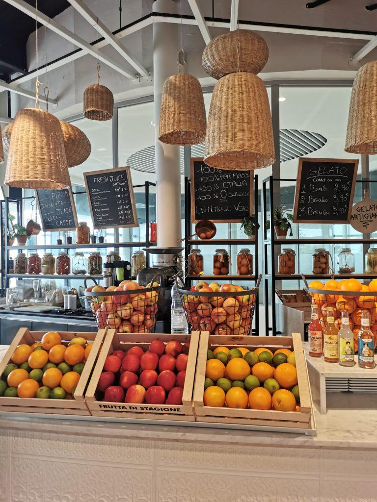 Coin café et glaces italiennes à It Villaggio