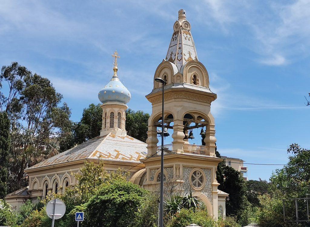 L'église russe de Cannes pour un voyage dans les Alpes Maritimes