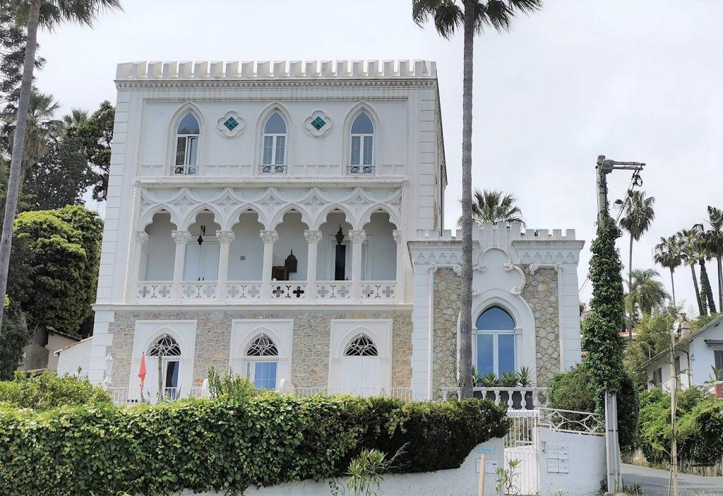 Villa La Mauresque à Golfe Juan pour un voyage das les Alpes Maritimes