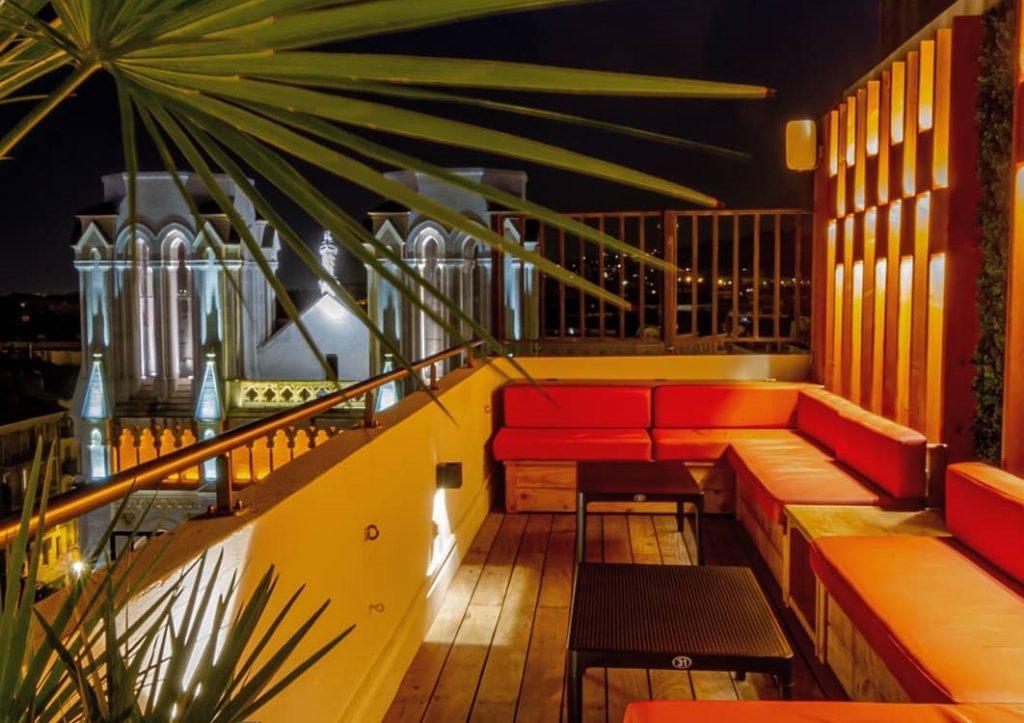 Le rooftop du Skylounge à Nice      @ Macchi Alexandre