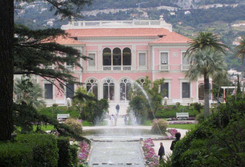 La Villa Rothschild à St-Jean Cap Ferrat