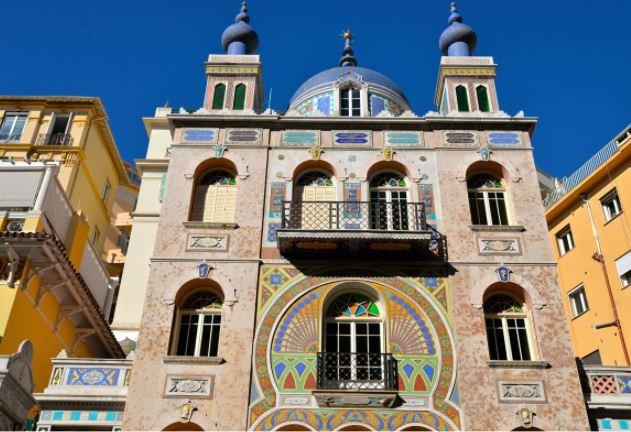 La Villa Danichgah à Monaco La Villa Ispahan à Monaco pour un voyage das les Alpes Maritimes