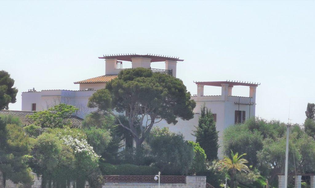 La Villa Kérylos à Beaulieu sur Mer pour un voyage dans les Alpes Maritimes