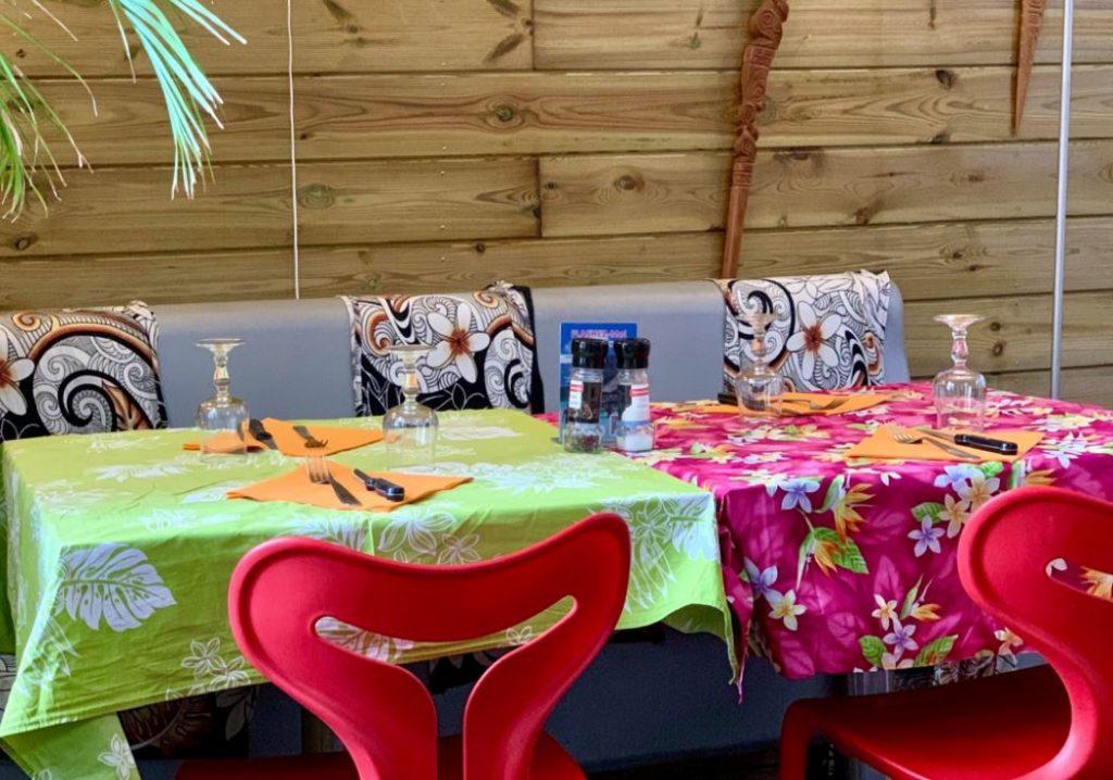 Restaurant le Ma' a Tahiti à Toulon décoration polynésienne dans les meilleurs restaurants qui invitent au voyage dans le var
